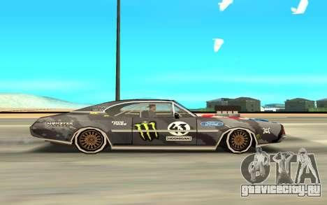 Ken Block Clover 2 для GTA San Andreas вид сзади слева