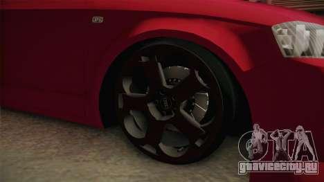 Audi A3-TR для GTA San Andreas вид сзади