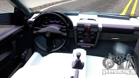 Chevrolet Corsa Classic 2009 для GTA San Andreas вид изнутри