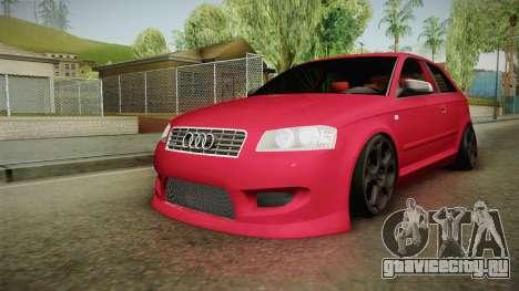 Audi A3-TR для GTA San Andreas