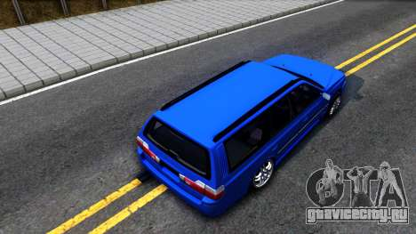 Nissan Stagea WC34 для GTA San Andreas вид сзади