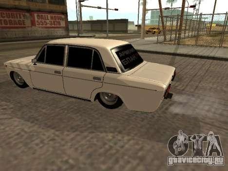 ВАЗ 2106 БПАН Armenian для GTA San Andreas вид сзади слева