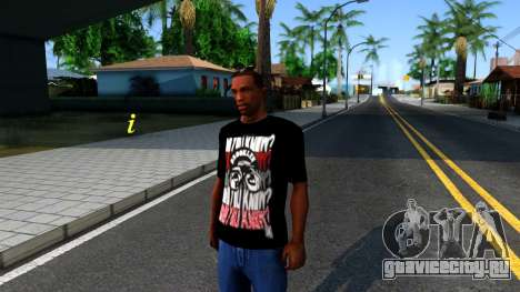 Nike Air Jordan S.O.M. Do You Know T-Shirt Black для GTA San Andreas