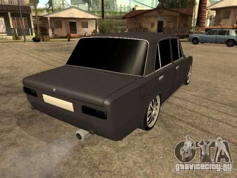 ВАЗ 2101 БПАН Аrmenian для GTA San Andreas вид слева