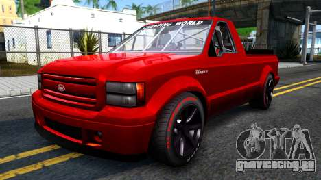 GTA V Vapid Sadler Racing для GTA San Andreas