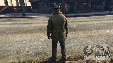 Jason Voorhes Ped model v3 для GTA 5