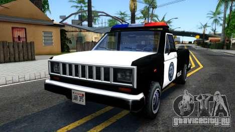 Police Bobcat для GTA San Andreas