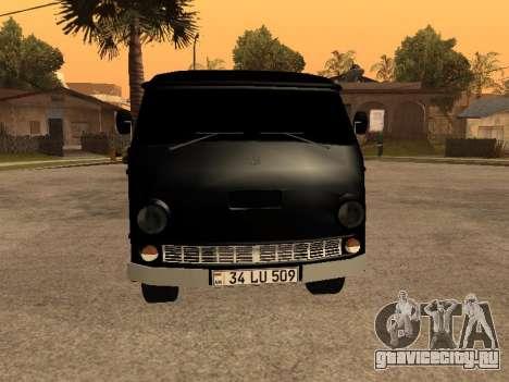 Eraz 762 Armenian для GTA San Andreas вид сзади