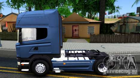 Scania R450 Streamline для GTA San Andreas вид слева