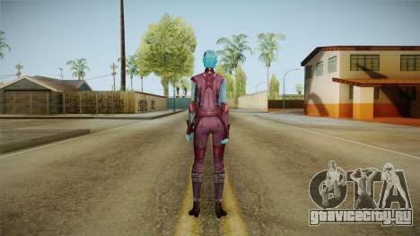 Marvel Future Fight - Nebula для GTA San Andreas третий скриншот