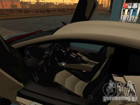 Lamborghini Aventador LP700-4 Armenian для GTA San Andreas салон