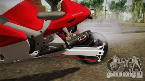 GTA 5 Hyabusa Drag v1 для GTA San Andreas вид изнутри