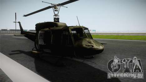 Bell UH-1N Russian для GTA San Andreas вид справа
