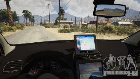 SIPA Policija для GTA 5 вид справа