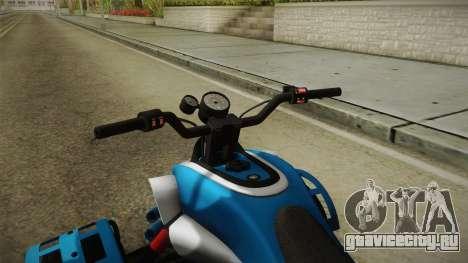GTA 5 Nagasaki Street Blazer v1 для GTA San Andreas вид изнутри