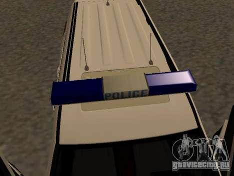 Toyota Land Cruiser Polise Armenian для GTA San Andreas