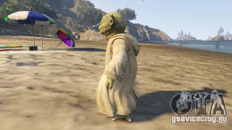 Star Wars Yoda для GTA 5 второй скриншот