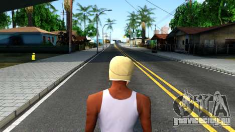 Winter Bomber Hat From The Sims 3 для GTA San Andreas третий скриншот
