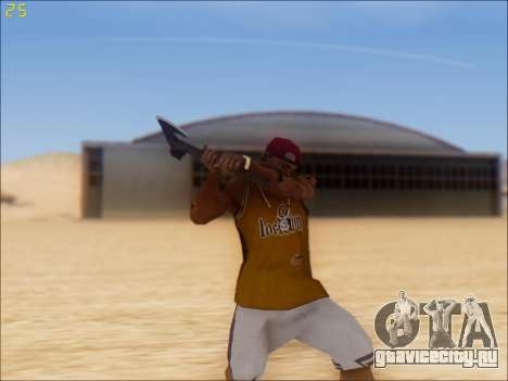 GTA 5 Battle Axe для GTA San Andreas