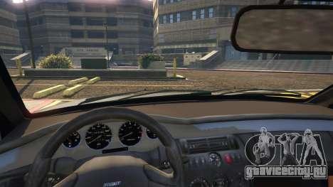 Fiat Coupe для GTA 5 вид справа