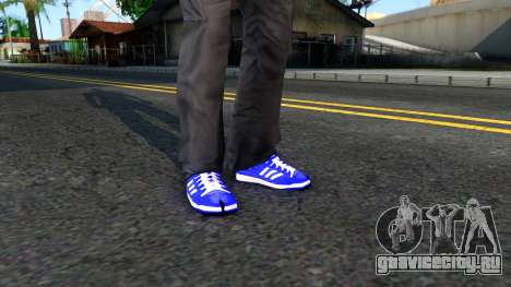 Adidas Forum MID Purple для GTA San Andreas второй скриншот