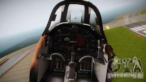 EMB McDonnell Douglas A-4M Skyhawk для GTA San Andreas вид сзади