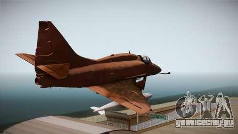 EMB McDonnell Douglas A-4M Skyhawk для GTA San Andreas вид справа