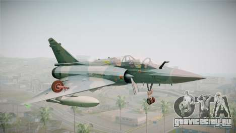EMB Dassault Mirage 2000-N FAB для GTA San Andreas вид сзади слева