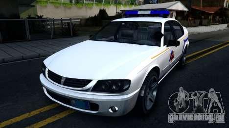 Declasse Merit Hometown Police Department 2004 для GTA San Andreas