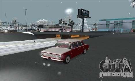 ВАЗ 2101 Снежная версия для GTA San Andreas
