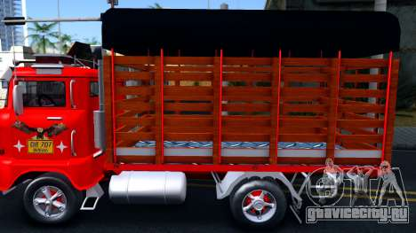 IFA W50 для GTA San Andreas вид слева