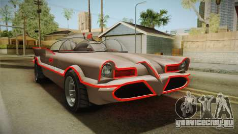 GTA 5 Vapid Peyote Batmobile 66 IVF для GTA San Andreas