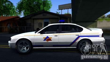 Declasse Merit Hometown Police Department 2004 для GTA San Andreas вид слева