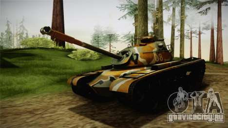 M48A3 для GTA San Andreas вид справа