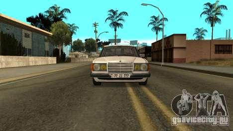 Mersedes-Benz E123 Armenia для GTA San Andreas вид справа
