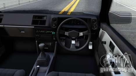 Toyota Sprinter Trueno для GTA San Andreas вид изнутри