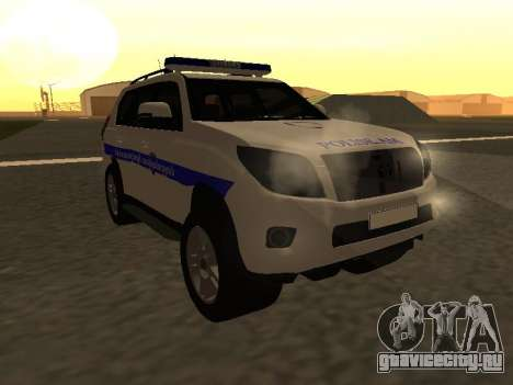 Toyota Land Cruiser Polise Armenian для GTA San Andreas