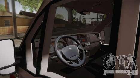Renault Master Скорая помощь для GTA San Andreas