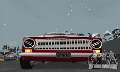 ВАЗ 2101 Снежная версия для GTA San Andreas вид справа