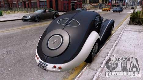 Truffade Z-Type для GTA 4 вид сзади слева