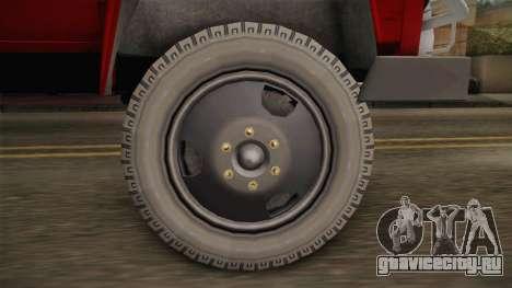 ГАЗ 52 Тюнинг для GTA San Andreas вид сзади слева