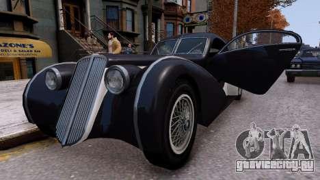 Truffade Z-Type для GTA 4 вид справа