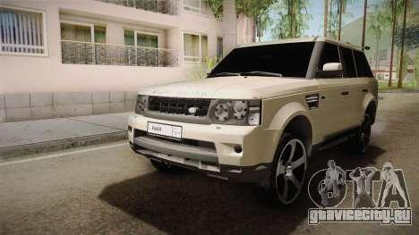Land Rover Range Rover 2015 Sport для GTA San Andreas