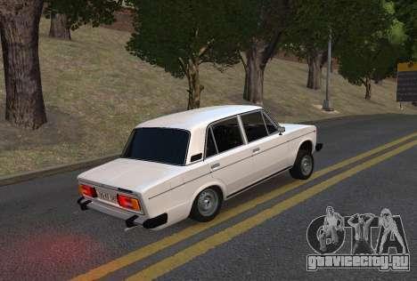 ВАЗ 2106 azelow для GTA 4 вид слева