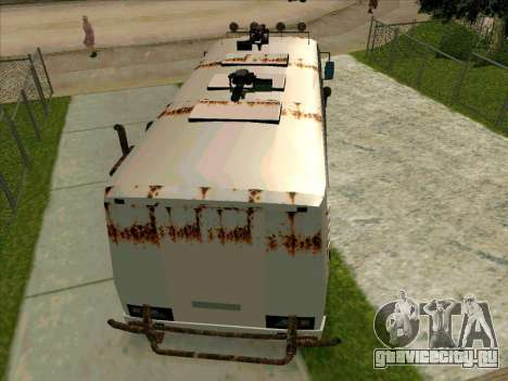 PAZ-32053 For the zombie Apocalypse для GTA San Andreas салон