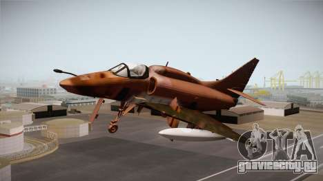 EMB McDonnell Douglas A-4M Skyhawk для GTA San Andreas