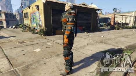 Deathstroke 1.1 для GTA 5 второй скриншот