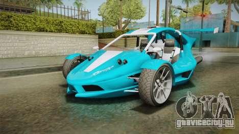 GTA 5 BF Raptor IVF для GTA San Andreas вид сзади слева