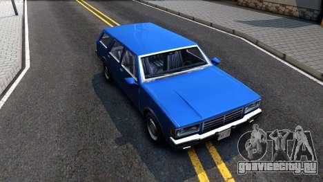 Premier Wagon для GTA San Andreas вид справа