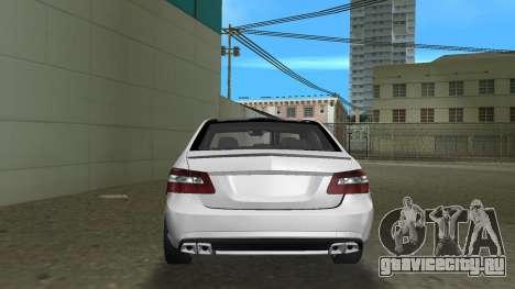 Mercedes-Benz E63 AMG TT Black Revel для GTA Vice City вид справа